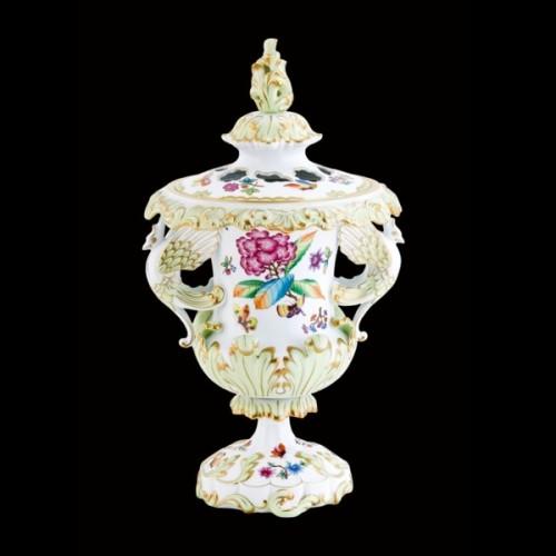 Декоративная ваза, с крышкой