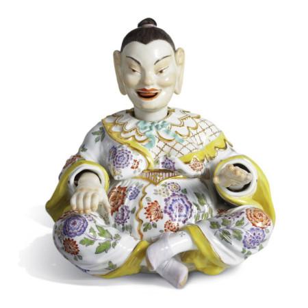 Пагода, женщина