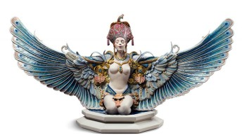 Winged fantasy Woman Sculpture. Limited Edition
