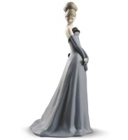 Gala Dance Woman Figurine