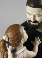 In Daddy's Arms Figurine