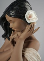Subtle moonlight Woman Figurine. Limited edition