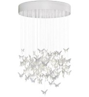 NIAGARA CHANDELIER 1,35M-WHITE (CE/UK)