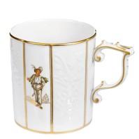 Gotzkowsky relief-design coffee mug with