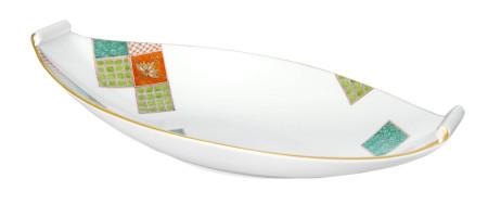 Сервировочное блюдо с орнаментом в Японском стиле