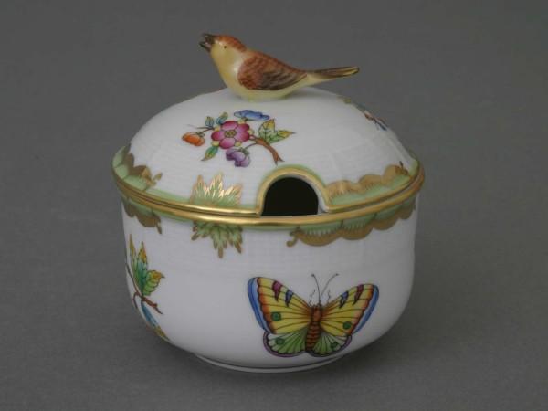 Вазочка для джема/меда/сахара, ручка в виде птицы