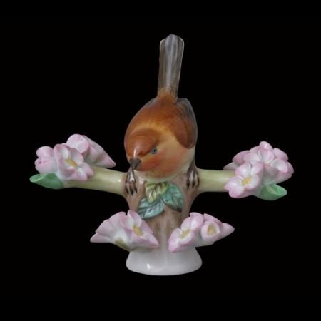 Маленькая птичка на ветке