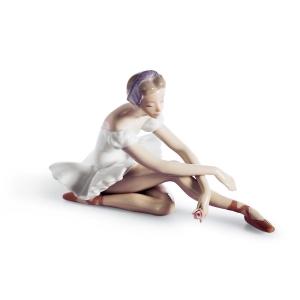 Балерина с розой