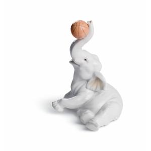 Слоник-баскетболист
