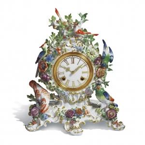 Часы «Цветы и птицы»