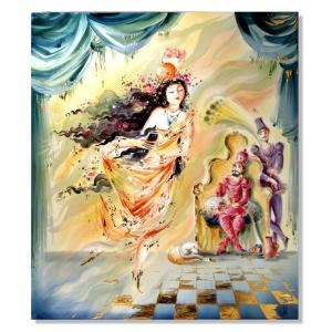 Картина, восточные танцы