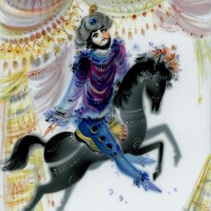 Картина, сказочный конь