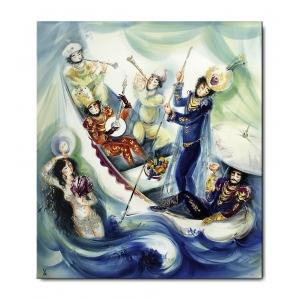 Картина «Мелодия воды», 1001 ночь по профессору Х, Вернеру