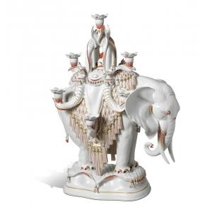 """Подсвечник """"Африканский слон"""""""