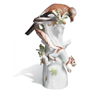 Птица с белкой