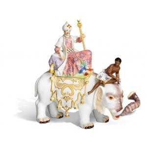 Перс на слоне