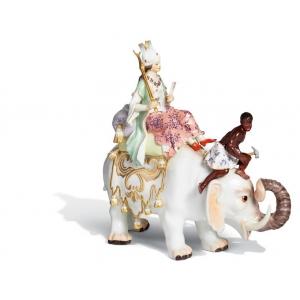 Персиянка на слоне