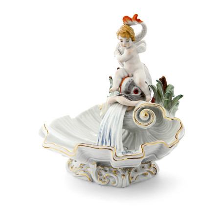 Декоративная ракушка с фонтаном