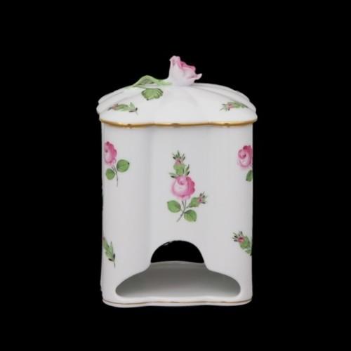Коробка для чайных пакетиков, ручка в виде розы