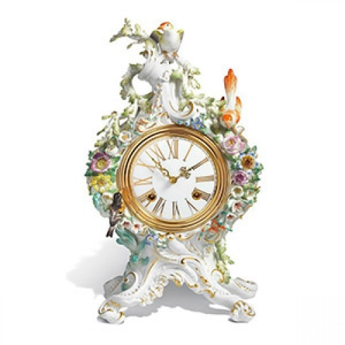 Meissen mantle clocks of the 18th century