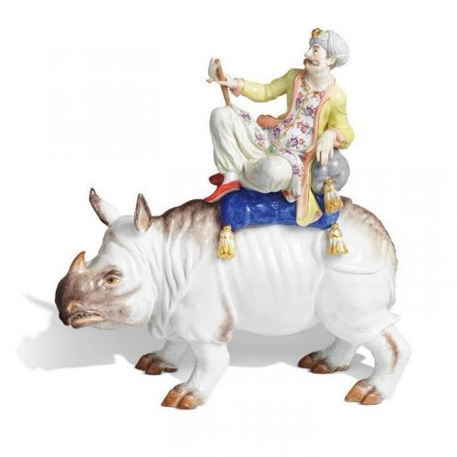 Турок на носороге