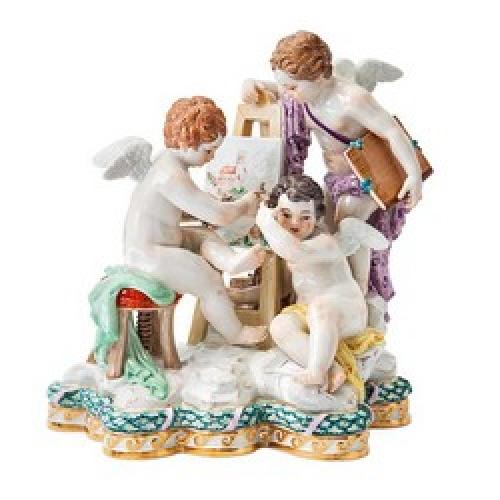 Амуры, Купидоны, Ангелы в творчестве мануфактуры Meissen
