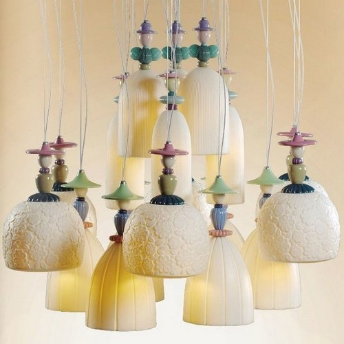 Красивые лампы для спальни