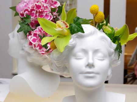 Ваза «Daisy» от Lladro на мастер-классе от ведущих флористов