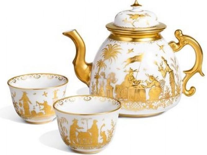История фарфорового чайника