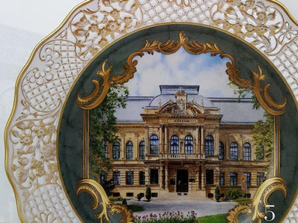 Выставка фарфора венгерской  мануфактуры Херенд в Кошице