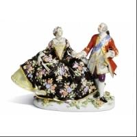 Скульптурная композиция «Любовная пара» 1744 года