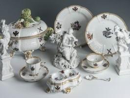 Истории самых знаменитых сервизов 18-ого века мануфактуры Meissen. Часть I