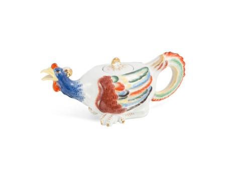 Чайники в форме Курицы и Петуха