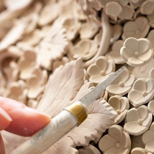 Процесс создания фарфоровых изделий