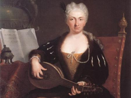 Скульптурная композиция «Дуэт» 1737 года