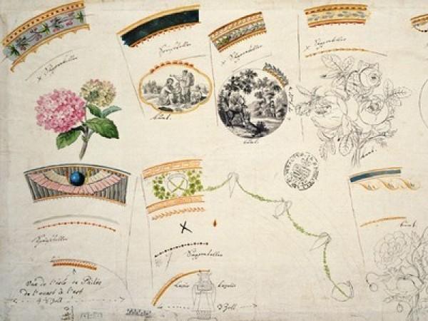Эпоха Бидермайер на Майсенской мануфактуре  (1814 – 1850)