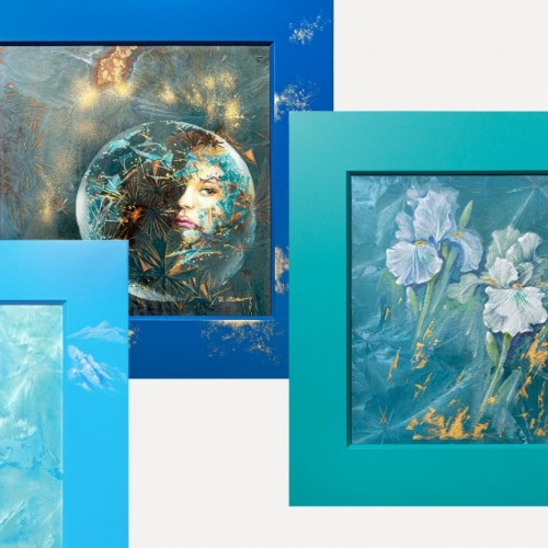 Кристаллическая глазурь и коллекция из 12 картин от MEISSEN