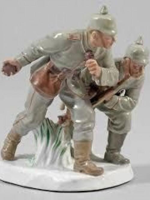 Военная миниатюра в скульптуре