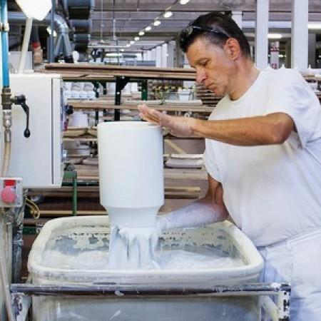 Глазурование фарфоровых изделий