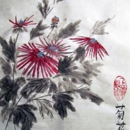Символика цветочной живописи на Китайских вазах